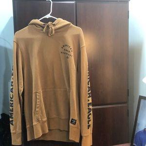 American Eagle Brown Sweatshirt - Men's M